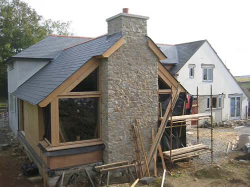 how to build a timber frame lean to
