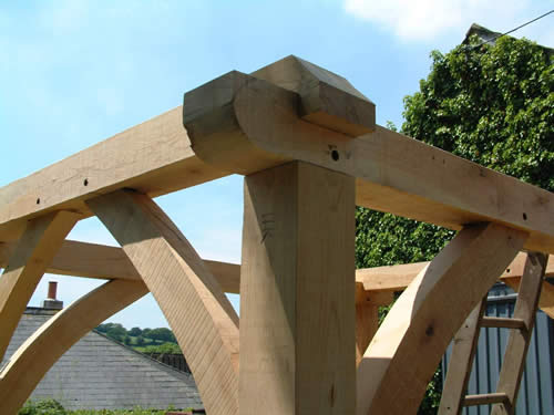 Timber construction joints